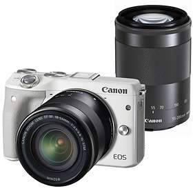 Canon EOS M3 + 18-55/3,5-5,6 IS STM + 55-200 IS STM