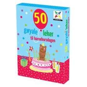 Vennerød Forlag 50 Gøyale Leke: Til Barnebursdagen