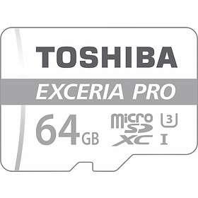 Toshiba Exceria Pro M401 microSDXC Class 10 UHS-I U3 64GB