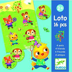Djeco Lotto 4 Friends
