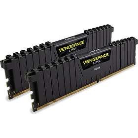 Corsair Vengeance LPX Black DDR4 2400MHz 2x4GB (CMK8GX4M2A2400C16)
