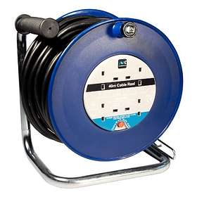 Masterplug Open Cable Reel 4-Way 40m