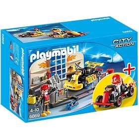 Playmobil City Action 6869 Starter Set 'Atelier de karting'
