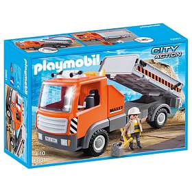 Playmobil City Action 6861 Flatbed Workman's Truck
