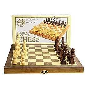 Folding Wooden Chess Set