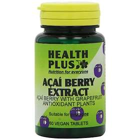 Health Plus Acai Berry Extract 60 Tablets
