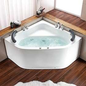 Bathlife Bubbelbadkar Vila 130x130 (Vit)