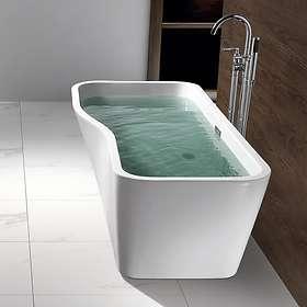 Bathlife Badekar Tycke Frittstående 170x58 (Hvit)