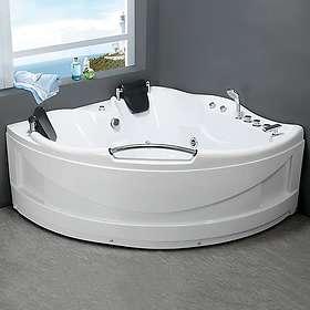 Bathlife Bubbelbadkar Vighet 150x150 (Hvit)