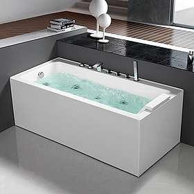 Bathlife Bubbelbadkar Pusta 150x58 (Vit)