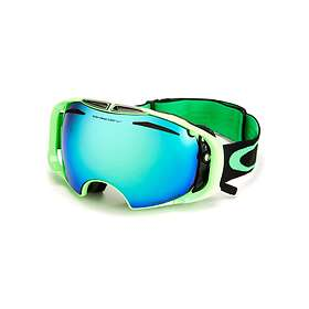 62e636d3b023 Find the best price on Oakley Airbrake Snow Prizm 80 s Green Edition ...