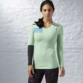 Reebok One Series Quick Cotton Compression LS Shirt (Dam)