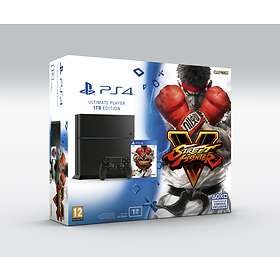 Sony PlayStation 4 1To (+ Street Fighter V)