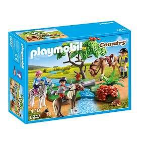Playmobil Country 6947 Cavaliers avec poneys et cheval