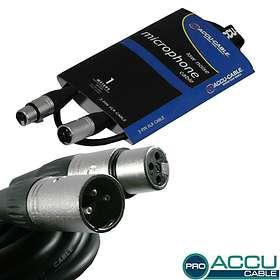 Accu-Cable Pro XLR - XLR M-F 1m
