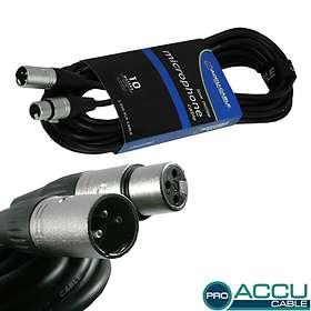 Accu-Cable Pro XLR - XLR M-F 10m