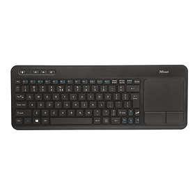 Trust Veza Wireless Touchpad Keyboard (EN)