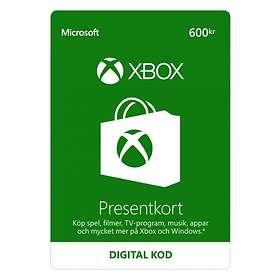 Microsoft Xbox Gift Card - 600 SEK