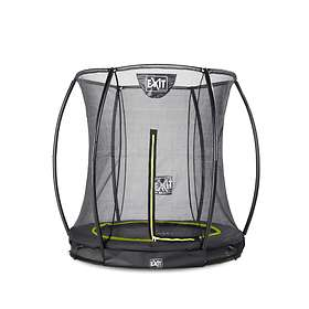 Exit Twist Ground Trampoline with Safety Net 183cm