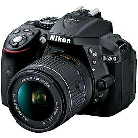 Nikon D5300 + AF-P 18-55/3,5-5,6