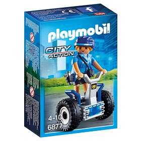 Playmobil City Action 6877 Polis på Segway