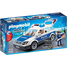 Playmobil City Action 6920 Squad Car with Lights and Sound