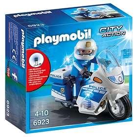 Playmobil City Action 6923 Polis på Motorcykel