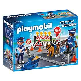 Playmobil City Action 6924 Vägspärr