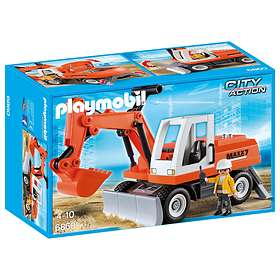 Playmobil City Action 6860 Rubble Excavator