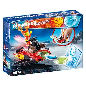 Playmobil Action 6834 Sparky with Disc Shooter