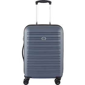 Delsey Segur 4 Double Wheels Slim Cabin Trolley Case 55cm