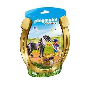 Playmobil Country 6970 Ryttare med häst Stjärnponny
