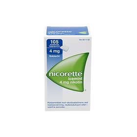 McNeil Nicorette Icy Mint Tyggegummi 4mg 105stk
