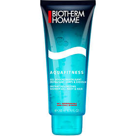 Biotherm Homme Aquafitness Body & Hair Shower Gel 200ml