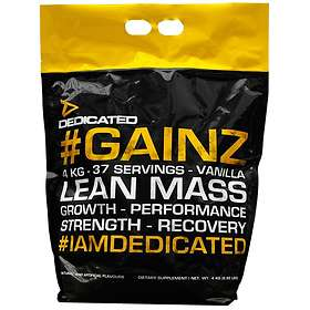 Dedicated Nutrition Gainz 4kg