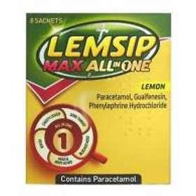 Reckitt Benckiser Lemsip Max All in One Lemon Pulver 8pcs
