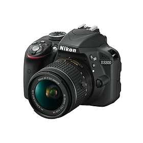Nikon D3300 + AF-P 18-55/3,5-5,6 VR