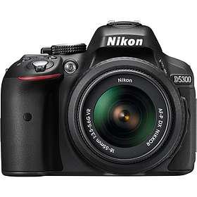 Nikon D5300 + AF-P 18-55/3,5-5,6 VR