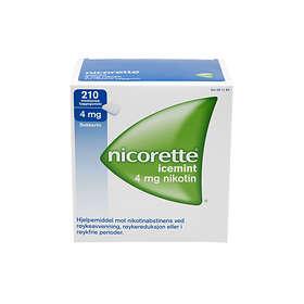 McNeil Nicorette Icy Mint Tyggegummi 4mg 210stk