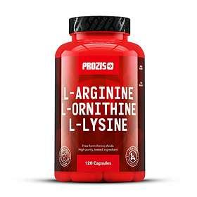 Prozis L-Arginine L-Ornithine L-Lysine 120 Kapslar