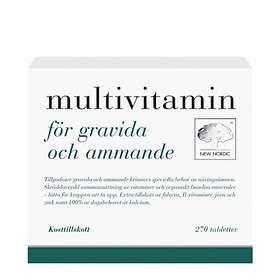 New Nordic Multivitamin för Gravida & Ammande 270 Tabletter