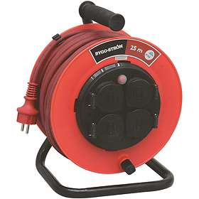 Malmbergs Cable Reel 4-Way 25m