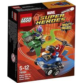 LEGO Marvel Super Heroes 76064 Mäktiga Mikromodeller: Spindelmannen mot Gröna
