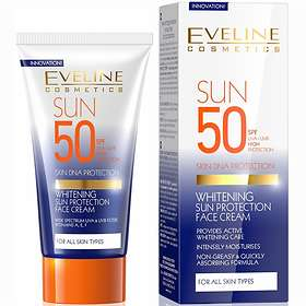Eveline Cosmetics Whitening Sun Protection Face Cream SPF50 50ml