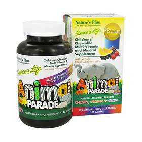 Nature's Plus Animal Parade Multivitamin 180 Tabletter