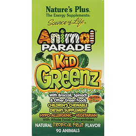 Animal Parade Kidz Greenz Chewable 90 Tabletter