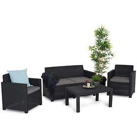 Comfort Garden Grupp Merano 92x59cm (inkl. 2st Fåtöljer, Soffa)