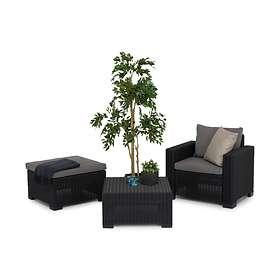 Comfort Garden Grupp Moorea 68x68cm (inkl. Fåtölj, Divan)