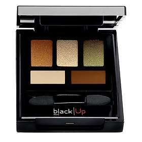 black|Up 5 Colour Eyeshadow Palette