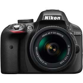 Nikon D3300 + AF-P 18-55/3,5-5,6 VR + 55-200/4,0-5,6 VR II